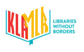KLA-MLA: Libraries Without Borders logo